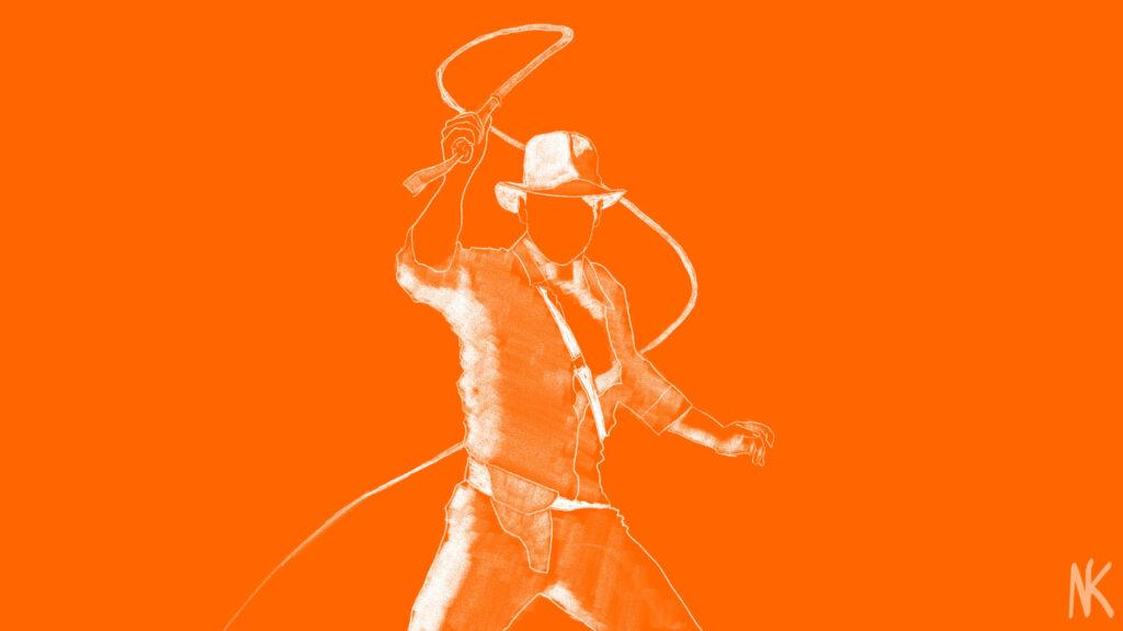 Indiana Jones - by Nick Warren